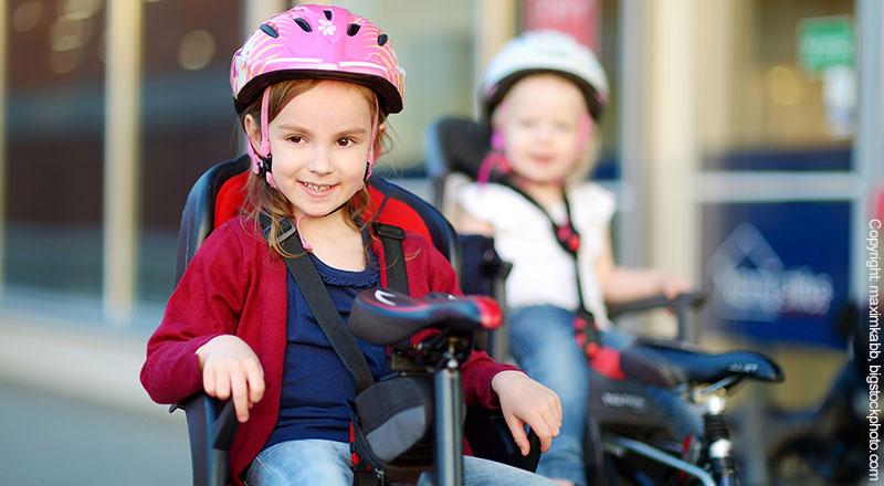 Fahrradsitze für große Kinder