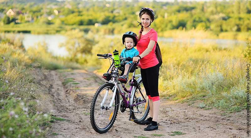 Kinder Fahrradsitz für vorn