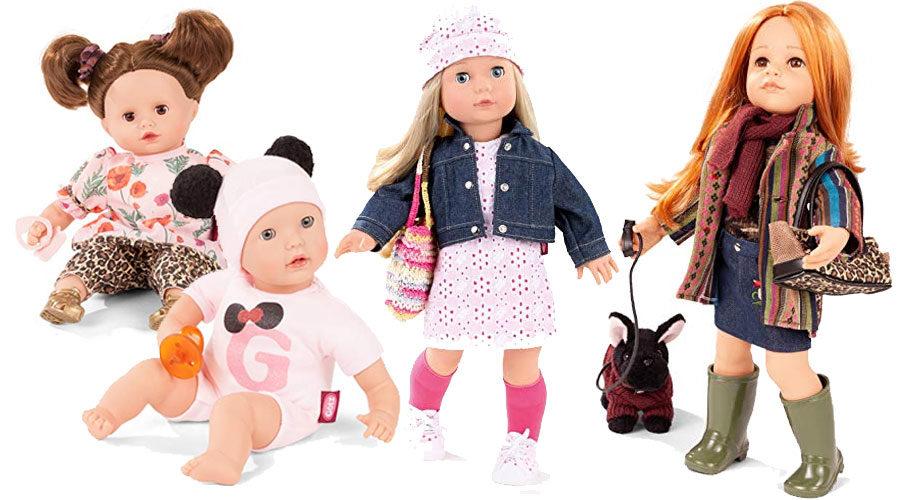 Puppen von Götz