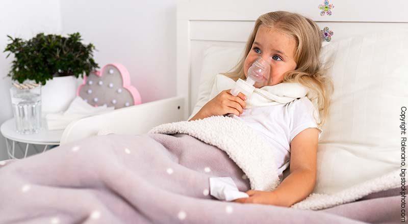 Inhalationsgerät für Baby