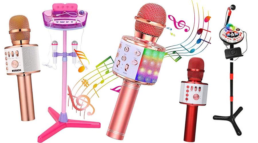 Kinder Karaoke Mikrofone