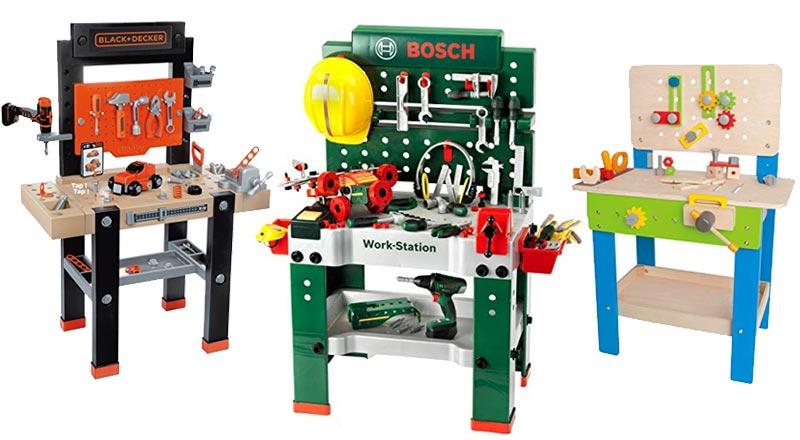Werkzeugtisch für Kinder
