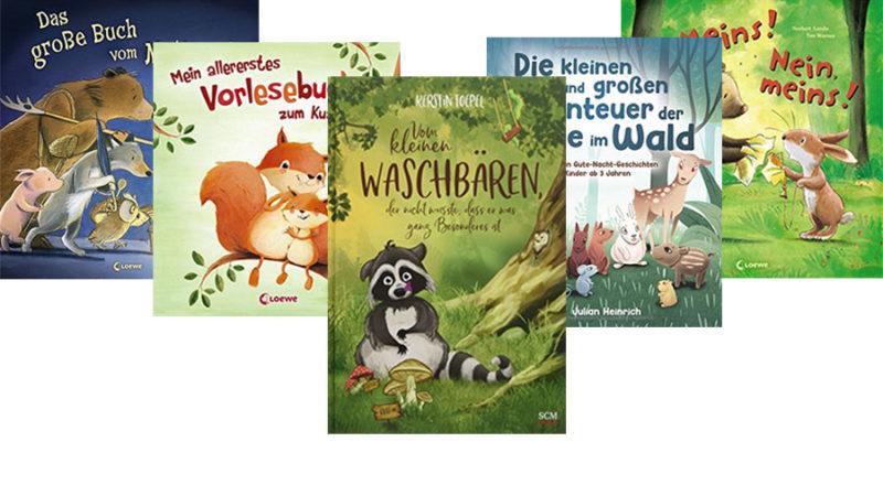 Bücher für Kinder ab 3 Jahre