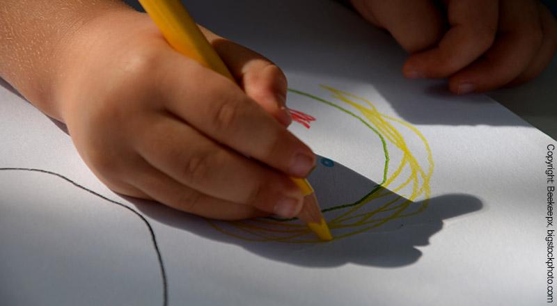 Buntstifte für Kleinkinder