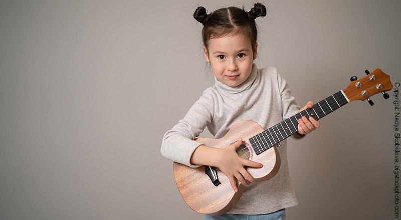 Gitarre für Kinder und Anfänger