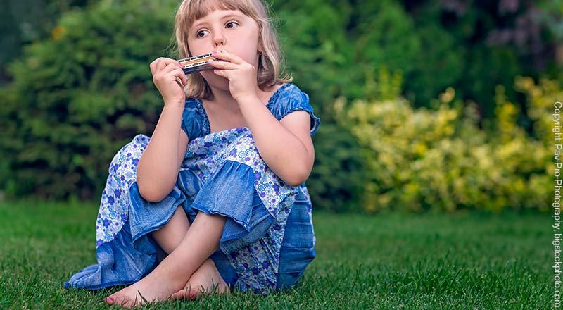 Blasharmonika für Kinder