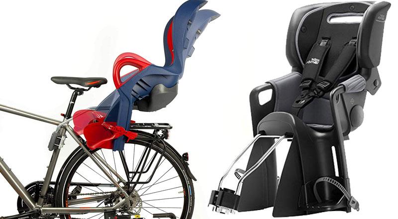 Fahrradsitz mit Schlafposition