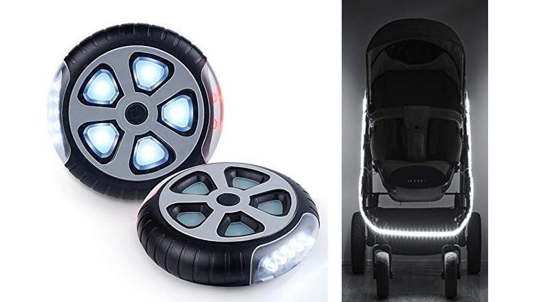 Beleuchtung für Kinderwagen
