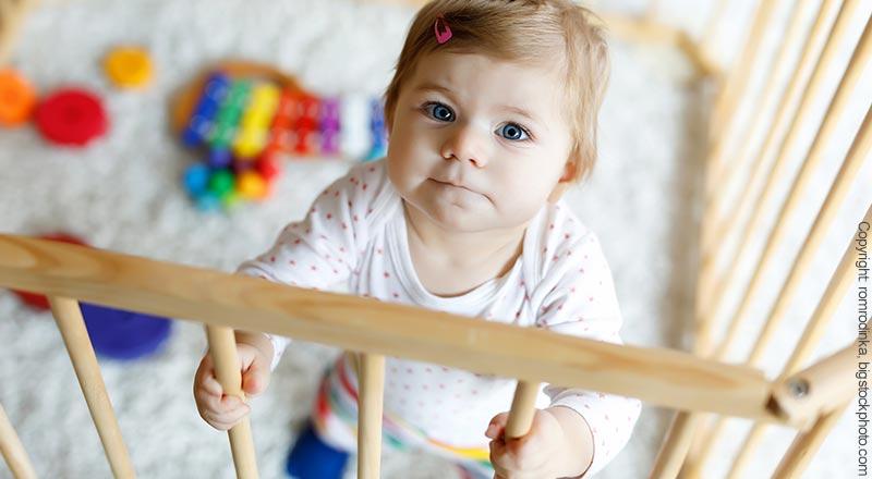 Laufgitter für Babys