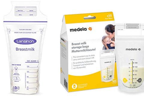 Muttermilch-Auffangbeutel