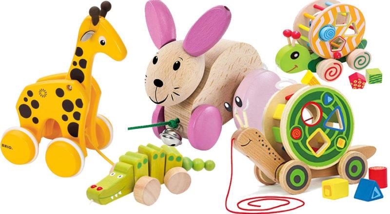 Nachziehspielzeug für Babys