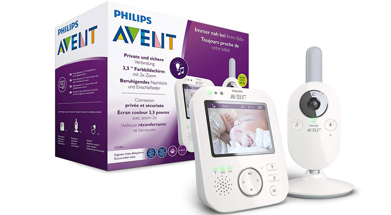 Avent Babyphone mit Kamera SCD843/26