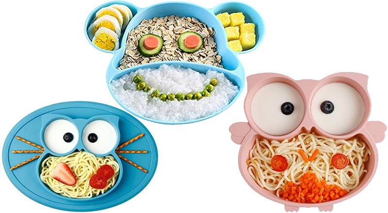 Silikon Teller für Babys