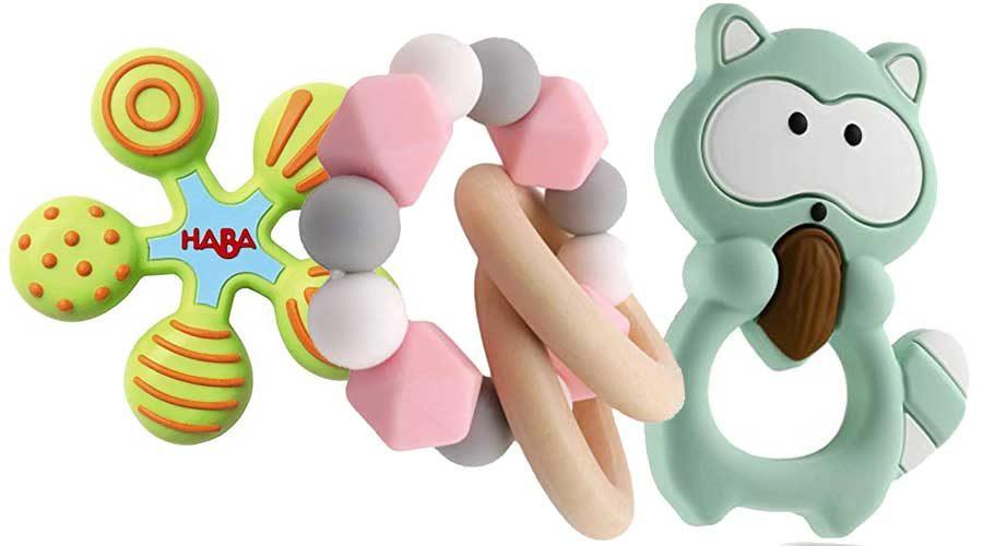 Silikon Beißringe für Babys