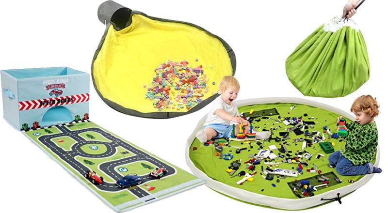 Aufräumsäcke für Spielzeug