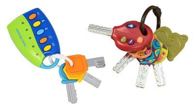 Spielzeugschlüssel