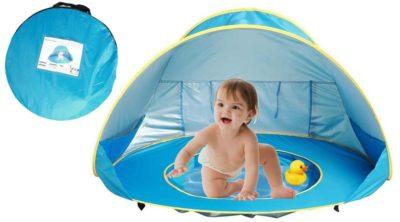 Baby Strandzelt mit Pool