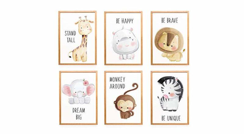 Wandbilder für Jungen-Babyzimmer