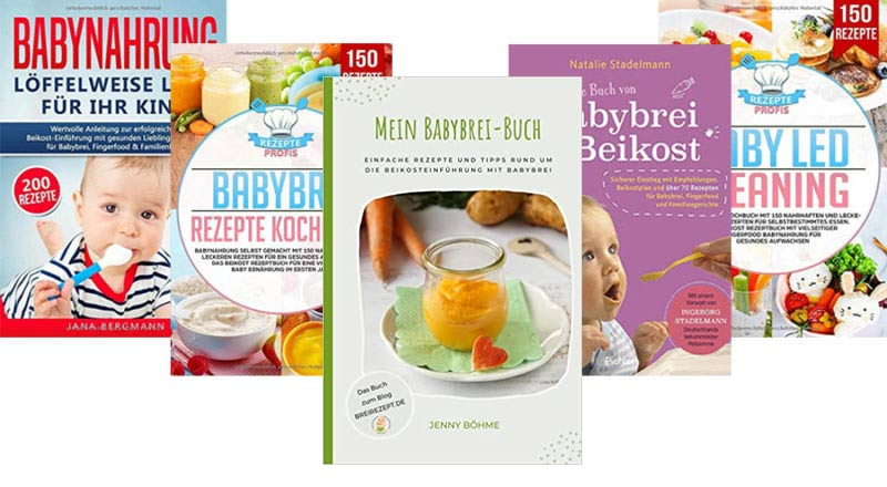 Beikostbücher für Babys