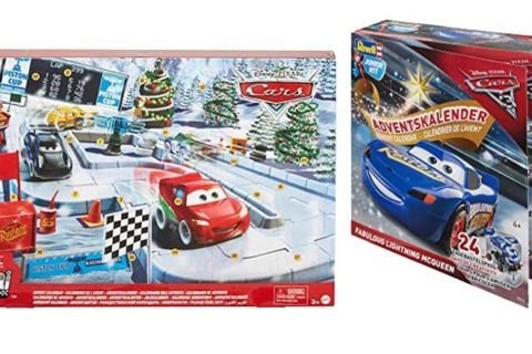 Disney Pixar cars Weihnachtskalender